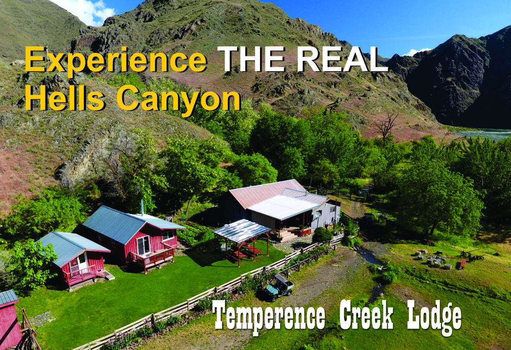 Temperence Creek Lodge Hells Canyon